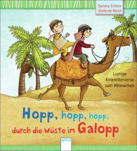 Hopp, hopp, hopp - durch die Wüste im Galopp