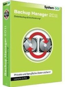 System GO! Backup Manager 2011