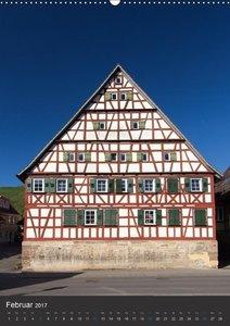 Strümpfelbach - Fachwerkhäuser (Wandkalender 2017 DIN A2 hoch)