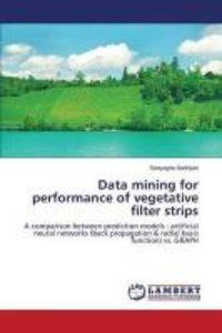 Data mining for performance of vegetative filter strips