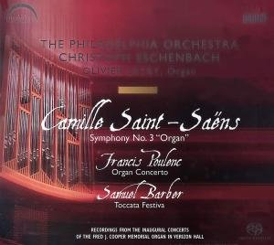 Sinfonie 3/Organ Concerto/Toccata Festiva