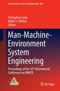 Man-Machine-Environment System Engineering