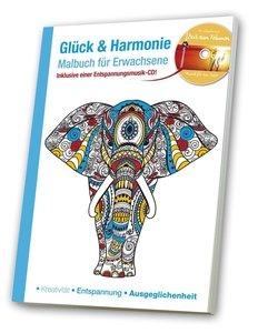 Malbuch für Erwachsene Glück & Harmonie