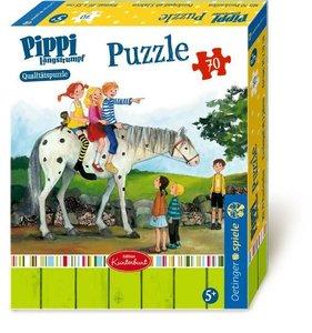 Pippi Langstrumpf Puzzle. 70 Teile