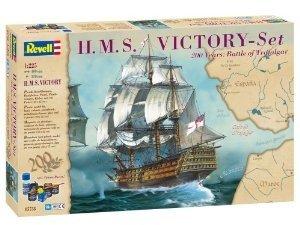 Revell 05758 - Modellbausatz Geschenkset: H.M.S. Victory, Maßsta