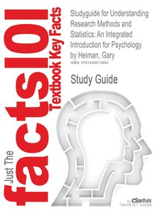 Studyguide for Understanding Research Methods and Statistics
