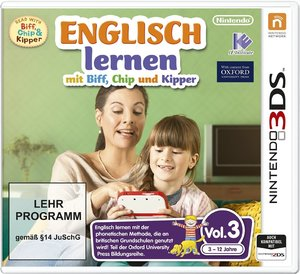 Englisch lernen mit Biff Chip & Kipper Vol.3. Für Nintendo 3DS