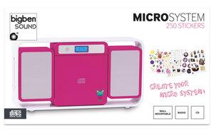 bigben Micro Kompaktanlage Kids pink MCD10