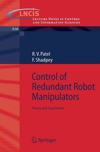 Control of Redundant Robot Manipulators