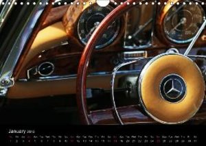 Dreams Made of Chrome The Charming Design of Classic Cars (Wall