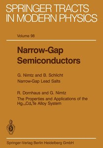Narrow-Gap Semiconductors
