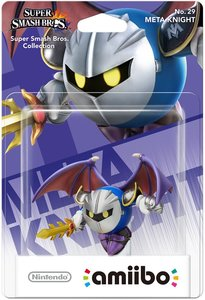 Amiibo Super Smash Bros. Collection - No. 29 Meta Knight