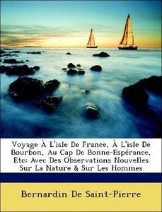 Voyage À L'isle De France, À L'isle De Bourbon, Au Cap De Bonne-