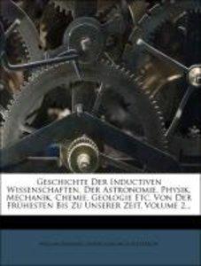 Geschichte der inductiven Wissenschaften.