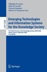 Emerging Technologies and Information Systems for the Knowledge