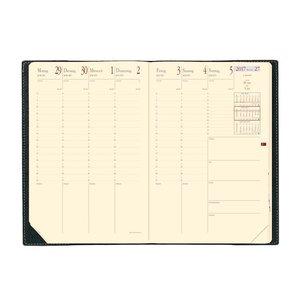 Minister Prestige 2016 Schreibtisch-Terminkalender Soho Schwarz