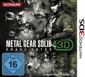 Metal Gear Solid - Snake Eater 3D (3DS)