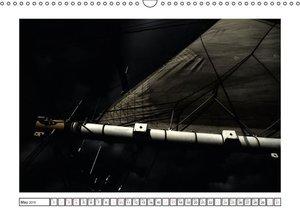 Sailing at Night / UK-Version (Wall Calendar 2015 DIN A3 Landsca