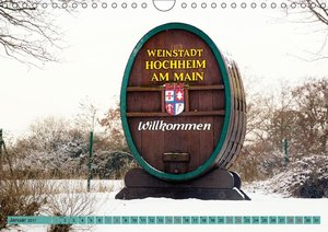 Hochheim, Perle vom Main (Wandkalender 2017 DIN A4 quer)
