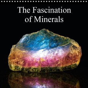 The Fascination of Minerals (Wall Calendar 2015 300 × 300 mm Squ