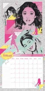 Violetta Broschurkalender 2016