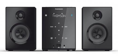 THOMSON Kompaktanlage MIC102B (CD/MP3/Digitaler FM Tuner/USB/Blu - zum Schließen ins Bild klicken