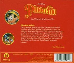 Pinocchio. CD