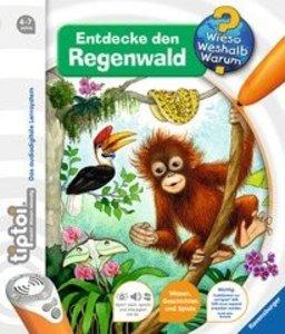 tiptoi® Entdecke den Regenwald tiptoi Bücher