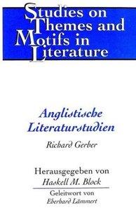 Anglistische Literaturstudien
