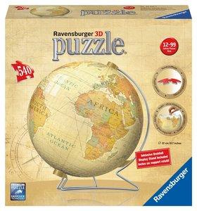 Vintage Globus. 3D Puzzle-Ball 540 Teile