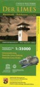 Der Limes / Rheinbrohl-Holzhausen / Unesco-Welterbe. Topographis