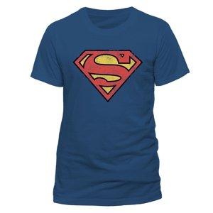 Vintage Logo (T-Shirt,Blau,Größe S)