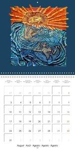 Mythological Intuitive Paintings (Wall Calendar 2015 300 × 300 m