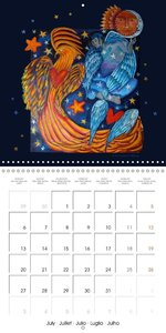 Mythological Intuitive Paintings (Wall Calendar 2015 300 × 300 m