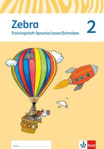 Zebra. Neubearbeitung. Trainingsheft zum Nachkauf 2. Schuljahr