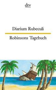 Diarium Rubeculi Robinsons Tagebuch