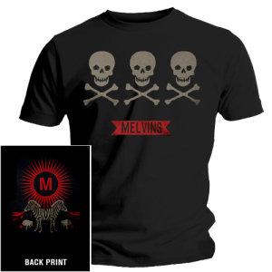 3 Skulls-T-Shirt Gr.XL