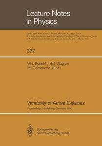 Variability of Active Galaxies