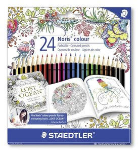 Farbstift Noris Colour 24St.-Johanna Bas