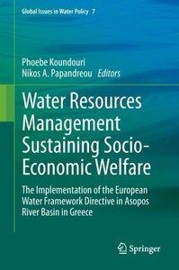 Water Resources Management Sustaining Socio-Economic Welfare