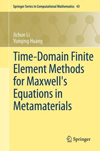 Time-Domain Finite Element Methods for Maxwell's Equations in Me