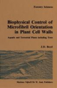 Biophysical control of microfibril orientation in plant cell wal