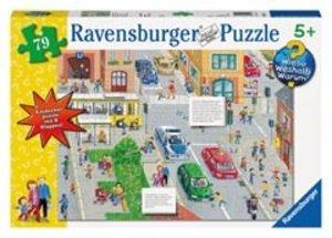 Ravensburger 05507 - Achtung im Straßenverkehr! Puzzle, 79 Teile