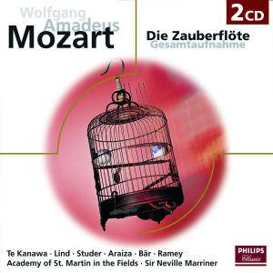 Die Zauberflöte (Gesamtaufnahme). 2 Klassik-CDs