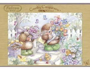 Jumbo Spiele 11011 - Country Companions, 500 Teile Puzzle