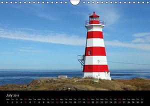 Canada\'s East Coast / UK-Version (Wall Calendar 2015 DIN A4 Lan