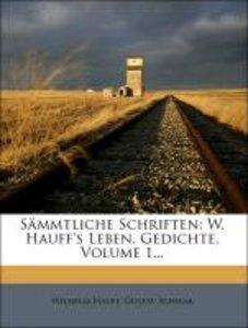 Wilhelm Hauff's sämmtliche Schriften: Gedichte.