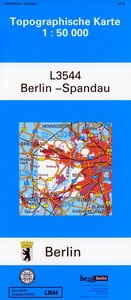 Berlin Spandau 1 : 50 000