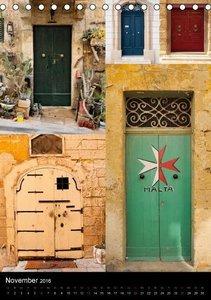 Maltesische Türen - Stimmungsvoll, schön und farbenfroh (Tischka