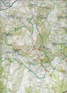 Parco dei Nebrodi. Carta escursionistica 1 : 50.000